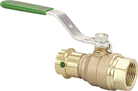 Viega ProPress ball valve Smart Connect feature, Zero Lead Model 2971.4ZL