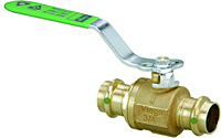 Viega ProPress ball valve Smart Connect feature, Zero Lead Model 2970.1ZL