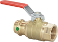 Viega ProPress ball valve Smart Connect feature, Model 2973.1