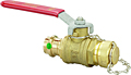 Viega ProPress ball valve Smart Connect feature, Model 2973.3